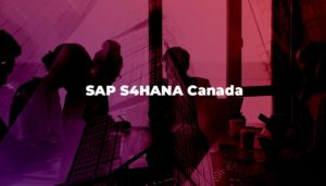 SAP S4HANA Canada