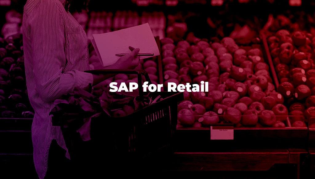 SAP for Retail SAP Canada Emerson Rush