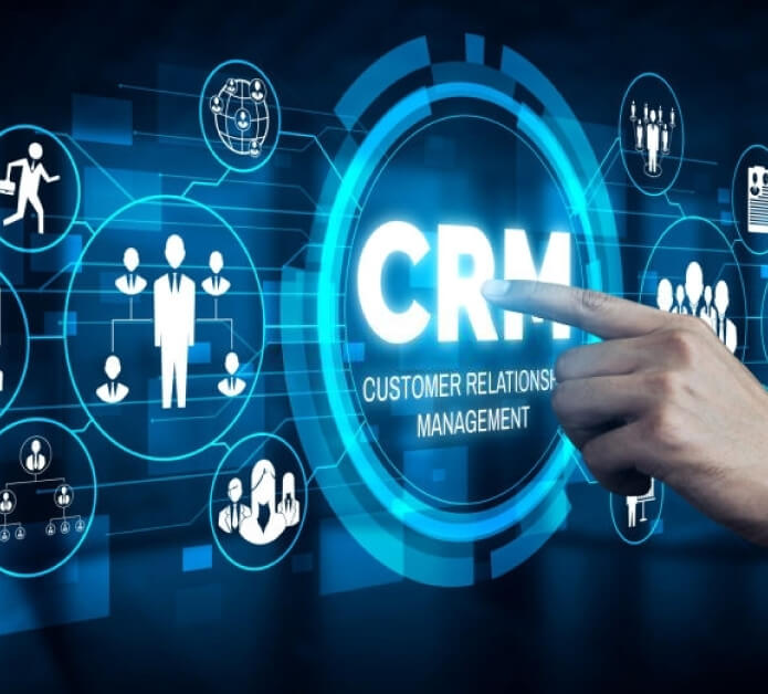 It has integrated CRM